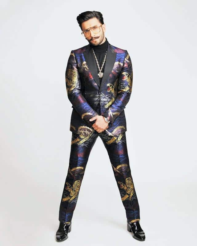 ranveer in Suit