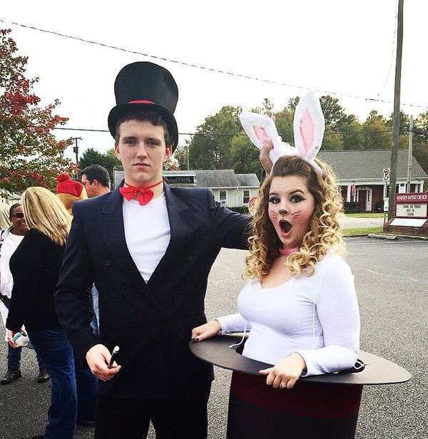 Magician And Bunny Costume For Couples