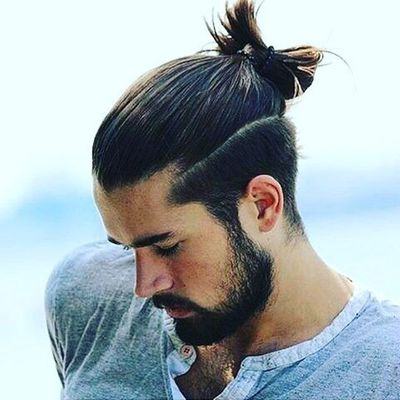 Chic Updo Hairstyle For Men For Trendy Look