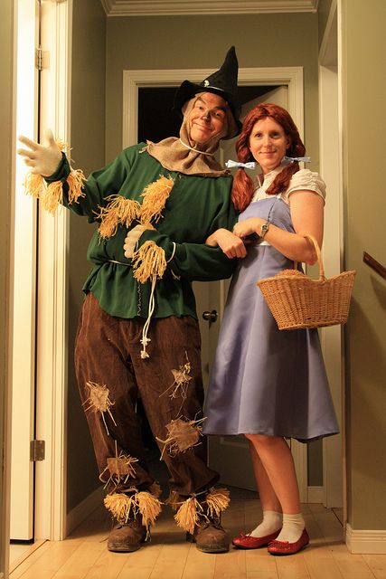 Scarecrow Couple Outfit