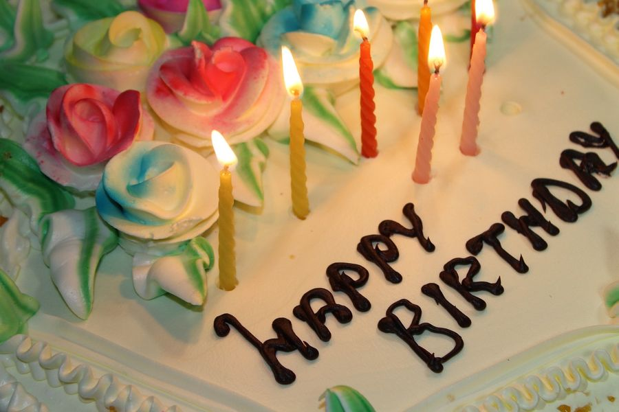 Happy Birthday Cake GIF by Birthday Bot - Find & Share on GIPHY