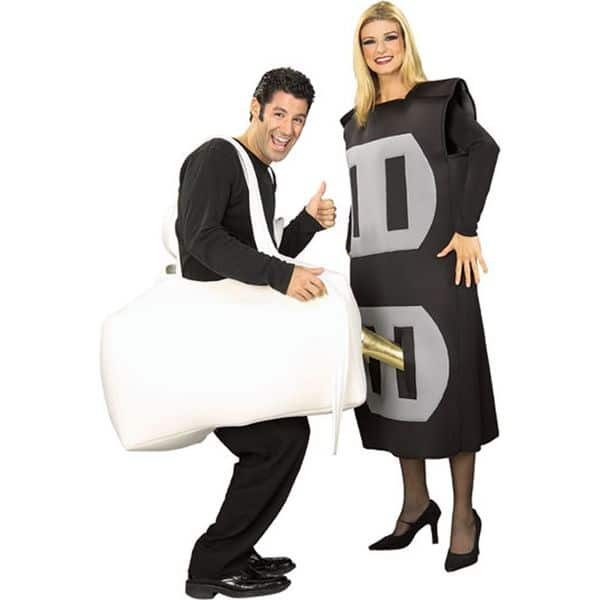 Quirky Plug And Socket Costume