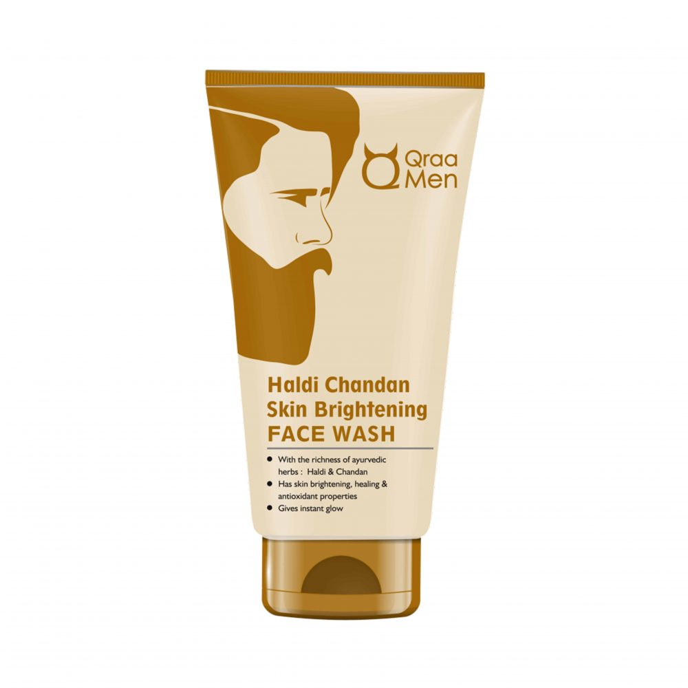Qraa's Haldi Chandan Skin Brightening Face Wash