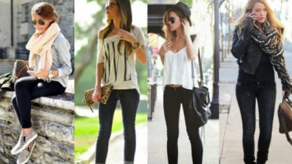 What to Wear with Black Jeans Womens