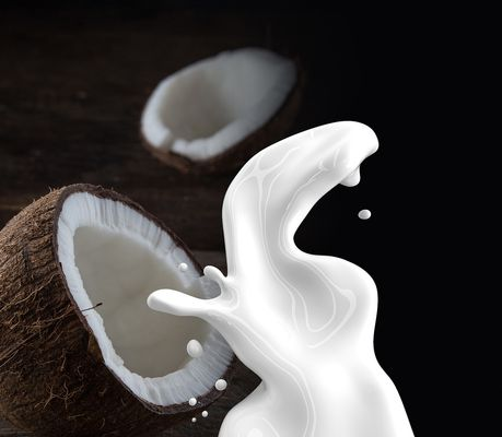 coconut milk for shiny hair