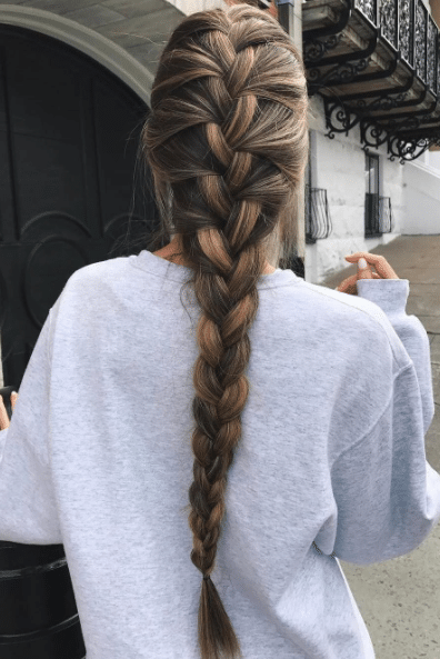 French Braid - types of braids
