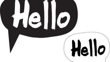 funny ways to say hello