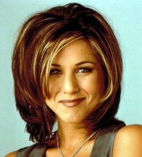 Classic Rachel Haircut From FRIENDS