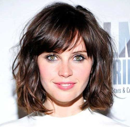 Shaggy Short Cut With Bangs
