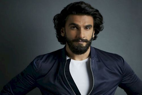 Ranveer Singh's Combed Back Hairdo For Stylish Look