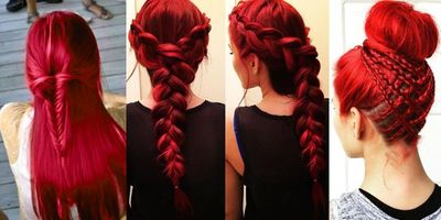 Amazing Red Braided Hair