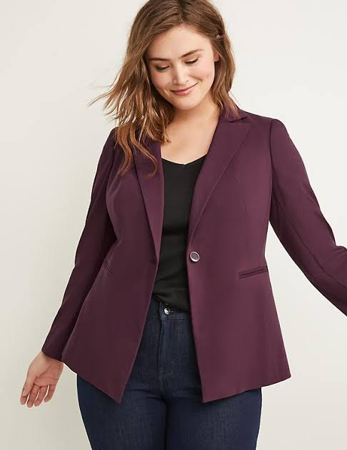 blazer to hide belly fat
