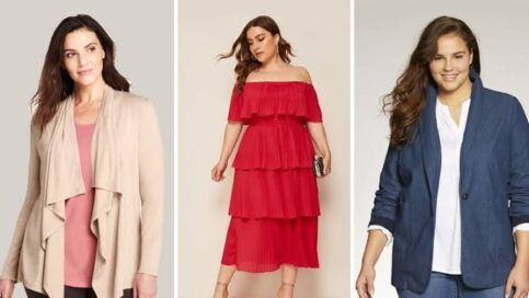 dress to hide belly bulge