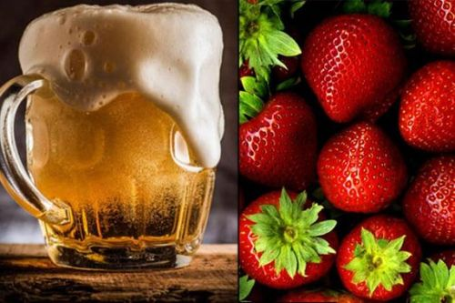 Strawberry And Beer Mask- beer hair +rinse