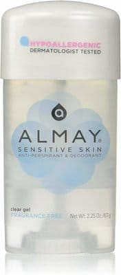 Almay Sensitive Skin Clear Gel Deodorant