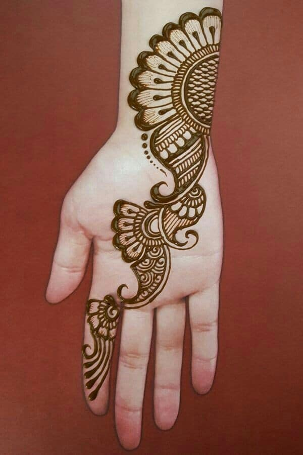 18 Super Simple Mehndi Design For Beginners In 2020 Stylewhack,Easy Simple Mehndi Designs For Beginners Back Hand