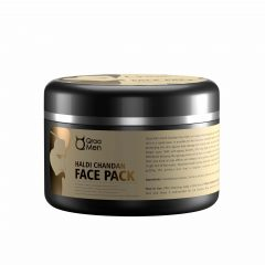 Qraa Men's Haldi Chandan Face Pack