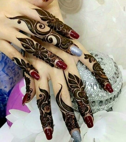 Mehndi designs new finger designs mehndi