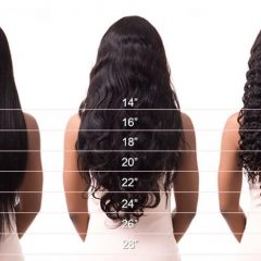 hair length and types