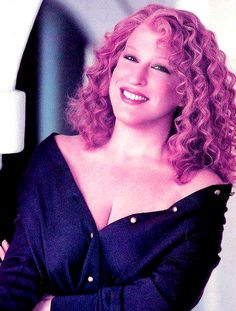 Bette Midler's -Hairstyles for over 50 with glasses