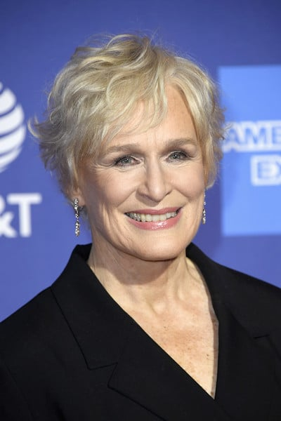 Glenn Close's-Hairstyles for over 50 with glasses