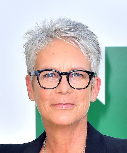 Jamie Lee Curtis'-Hairstyles for over 50 with glasses