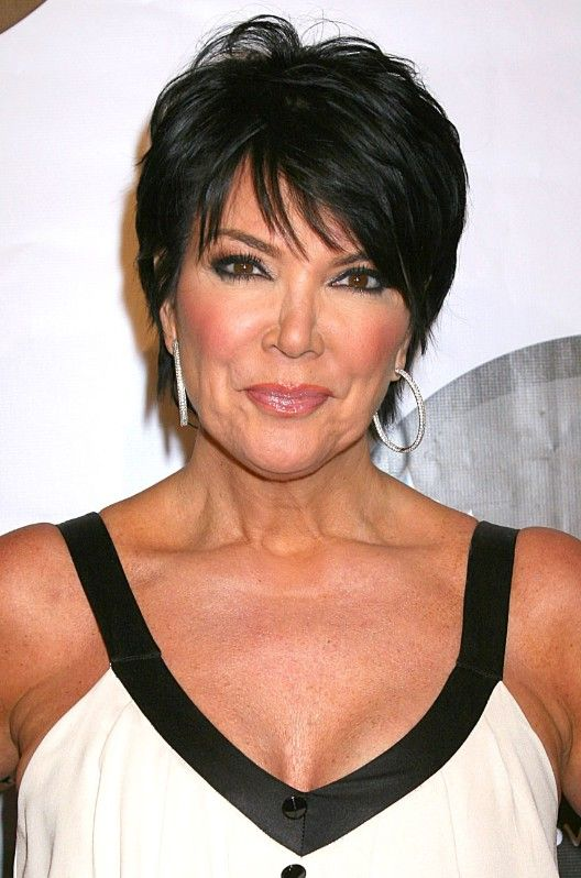 Kris Jenner's -Hairstyles for over 50 with glasses