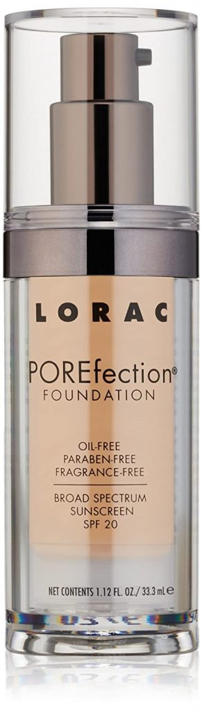 LORAC POREfection Best Foundation For Aging Skin over 50
