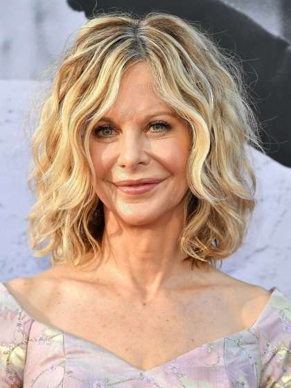Meg Ryan's Iconic Tousled Waves