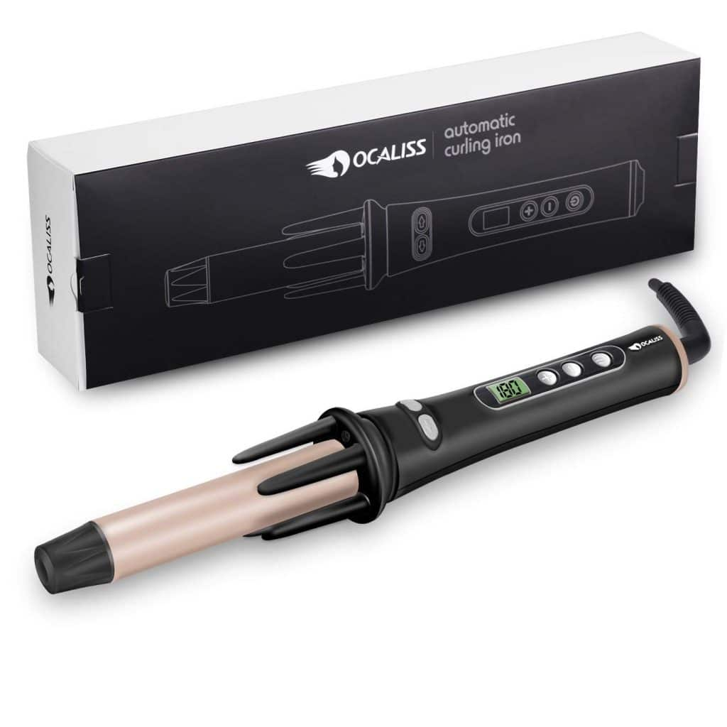 Ocaliss automatic curling iron for short hair