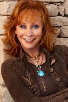 Reba McEntire's Feathery Layers